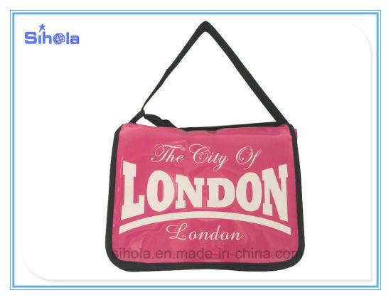 London Travel Pink Color Shoulder Bag