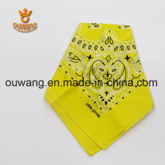 Fashion Design Cheap Custom Bandanas Scarf pictures & photos