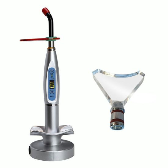 Euro-Market! ! ! Dental LED Curing Light Lamp Wireless 5W 1500MW Blue Light pictures & photos