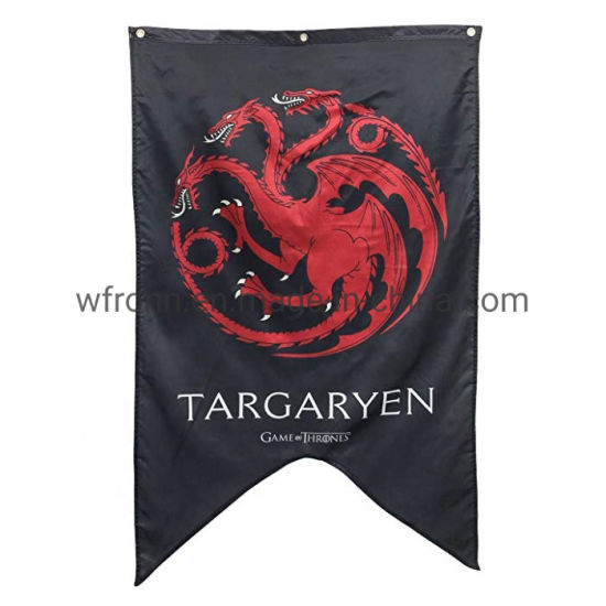 Wholesale Custom Popular Printing Polyester Any Size Game of Thrones Flag