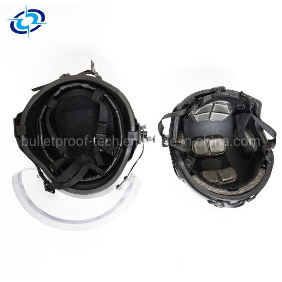 China Bullet Resistant Glass Visor/Ballistic Helmet Visor