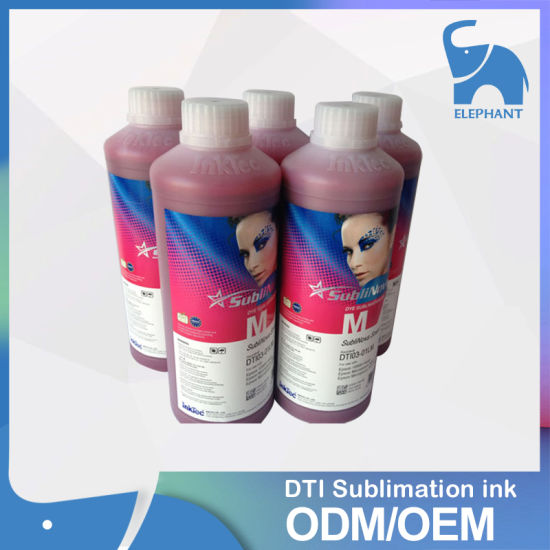 Heat Transfer Sublinova Smart Sublimation Ink for T-Shirt pictures & photos