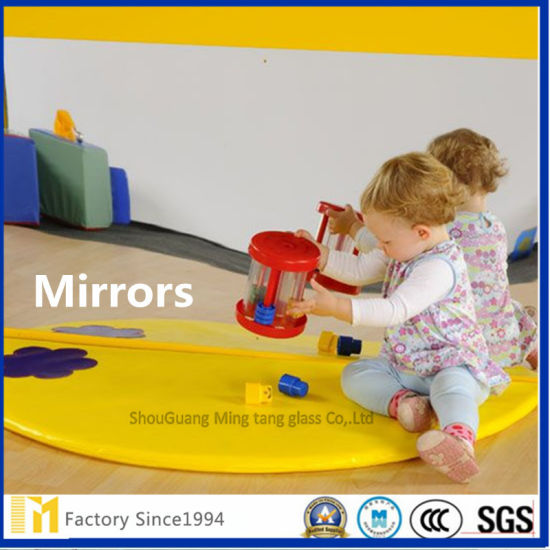 High Grade 6mm Big Size Copper Free Safety Mirror for Baby