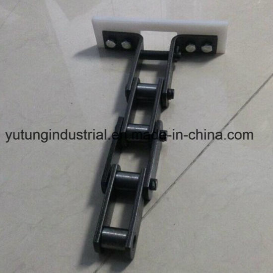 Conveyor Agriculture Chain Roller Chain with Scraper