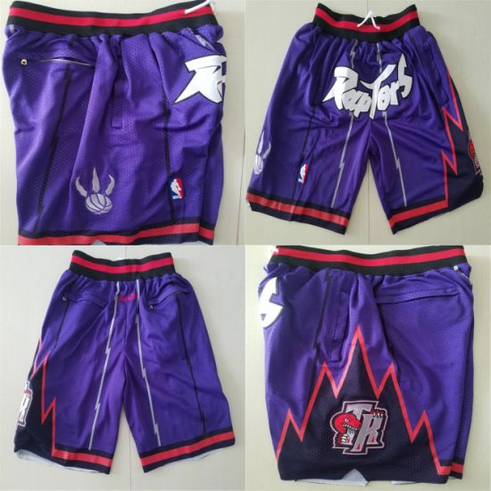 premium selection aa348 790ab 2019 Wholesale Toronto Raptors Pocket Version N-B-a Basketball Pants Shorts