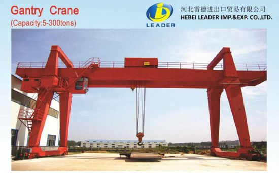 Electric Double Girder Gantry Portal Crane (LDLS-MG) pictures & photos