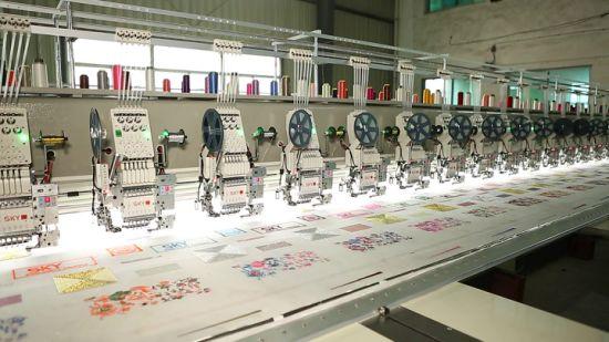 Embroidery Machine Big Area Flat Head Soundless No Vibration
