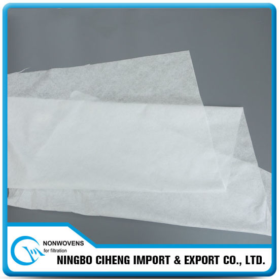 Types Polypropylene Filter Cloth Roll PP Non Woven Fabric for Air Cleaner