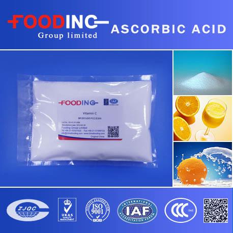 High Quality Ascorbic Acid Vitamin C, L Ascorbic Acid, Ascorbic Acid Food Grade Supplier
