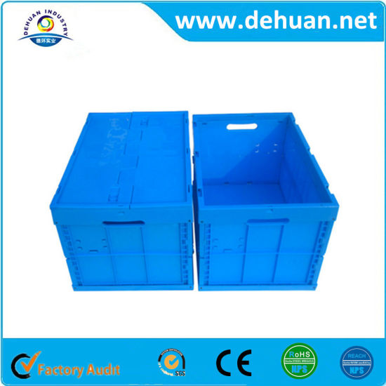 Collapsible Plastic Storage Crate/Turnover Box In Made In China