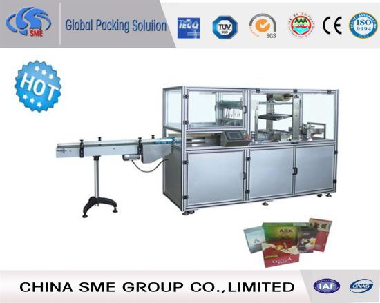 China Ce Approved Stacker Cellophane Over Wrapper Machine