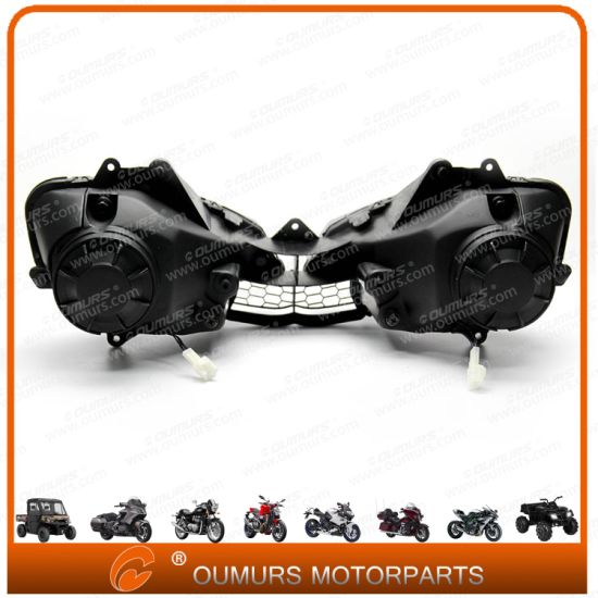 China Motorcycle Spare Parts and Accessories Headlight for