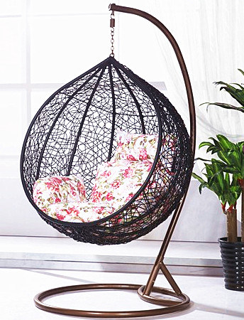 Miraculous 2019 Outdoor Furniture Relaxing Patio Round Hanging Egg Swing Chair Ibusinesslaw Wood Chair Design Ideas Ibusinesslaworg