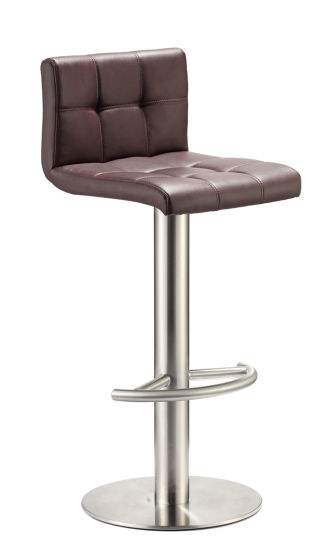 Amazing China Heavy Base Backless Stainless Steel Leather Bar Stool Gmtry Best Dining Table And Chair Ideas Images Gmtryco