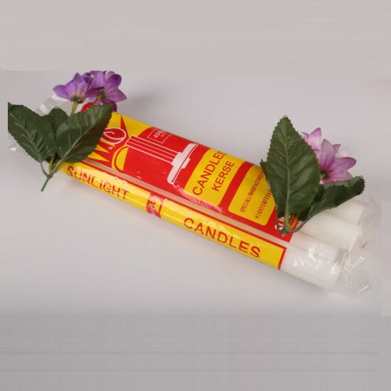 China 40g White Household Praying Candle with Long Burning Time