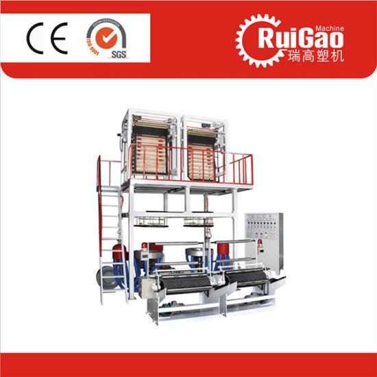 Taiwan Quality Double Die Head PE HDPE Film Making Machine Price