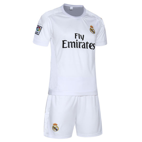 84ae6638d 2015 New Soccer Jersey Football Training Wear Short-Sleeved Suit Real  Madrid on The 7th