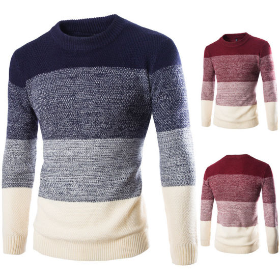 8283a4e05 China Fashion Autumn Winter Men Sweaters Casual Slim Fit Long Sleeve ...