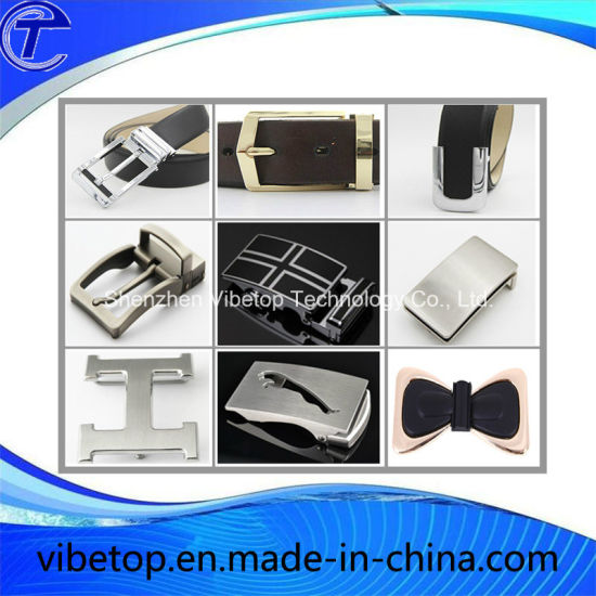 New Design High Quality Zinc Alloy Leather Belt Buckle pictures & photos