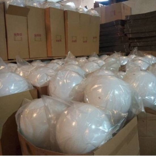 Acrylic Sphere for Light White Acrylic Hollow Globe 300mm 500mm Diameter pictures & photos