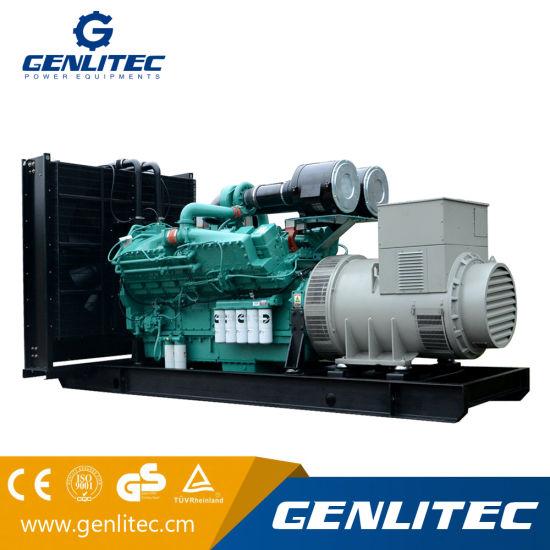 china diesel power 500kva cummins generator with cummins kta19 g4 rh genlitec en made in china com Cummins Marine Diesel Engines Cummins QSK60 Gas Engine