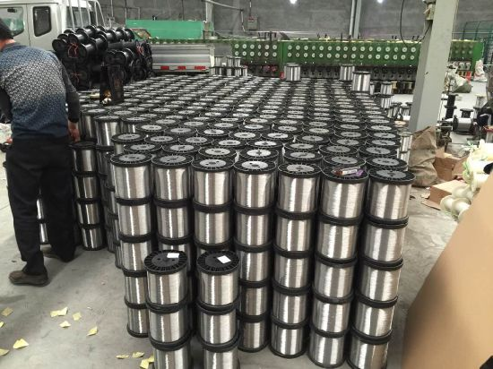 ISO Certificate Ss 304 304L 316 316L Mesh Weaving Stainless Steel Wire 0.025-5.0mm pictures & photos