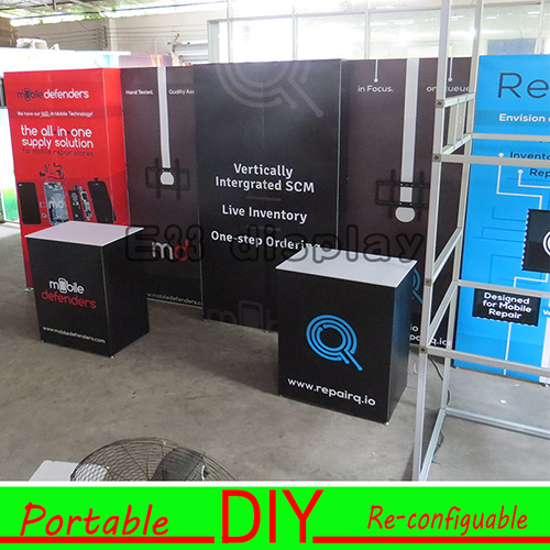 Flexible Exhibition Stands : China by modular and flexible exhibition booth stand in usa