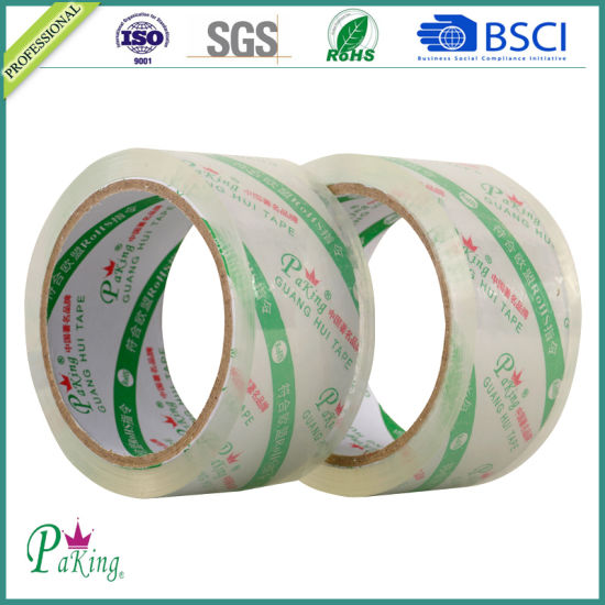 Crystal Clear Packing Tape for Carton Sealing pictures & photos