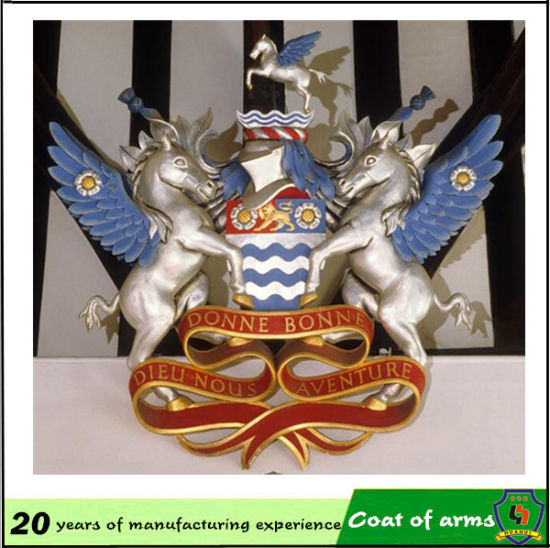 Royal Aluminum 3D Emblem for Buildiing pictures & photos