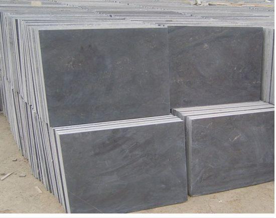 China Natural Blue Limestone Bluestone Paving Tiles For Flooring