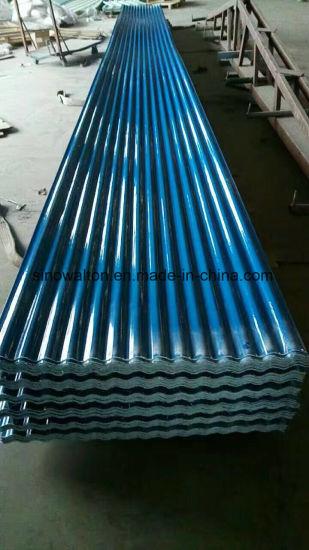 FRP Transparent Corrugated Plastic Roofing Sheet