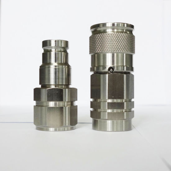 NPT Bsp Thread Stainless Quick Couplers Non-Spill ISO 16028