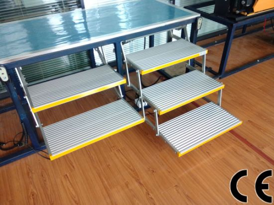 CE Automatic Folding Steps with Single Step and 2 Steps pictures & photos