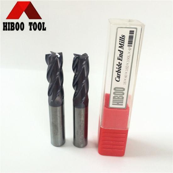 1//4 x 3//4 x 2-1//2 Carbide 4F SquareEnd End Mill
