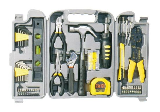 Plastic Box 89PCS Household Tool Set DIY Hand Tool Set Mechanical Tools Set pictures & photos