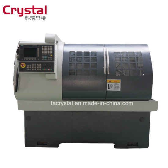 Ck6432A CNC Lathe Machine Price 4 Station Tool Holder with Siemens System pictures & photos