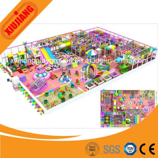 Kids Play Park Games, Excellent Indoor Playground Castle Equipments