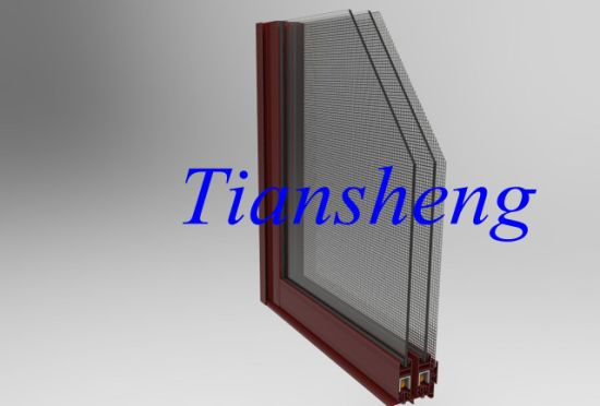 Competitive Price Aluminum Sliding Window with Mosquito Net pictures & photos