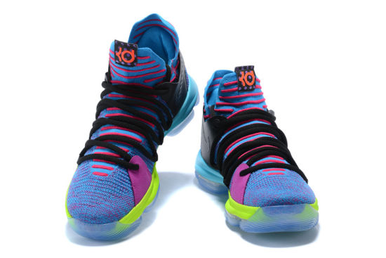 b1bb7b9b99d 2018 Kd 10 Multi-Color Oreo Numbers Bhm Igloo Men Basketball Shoes Kd 10 X  Elite MID Kevin Durant Sport Sneakers