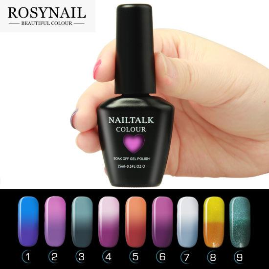 China Beautiful Nails Gel Polish Mood Changing Color UV Gel Polish ...