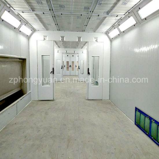 Used Downdraft Large Paint Booth for Sale/Heated Paint Booth