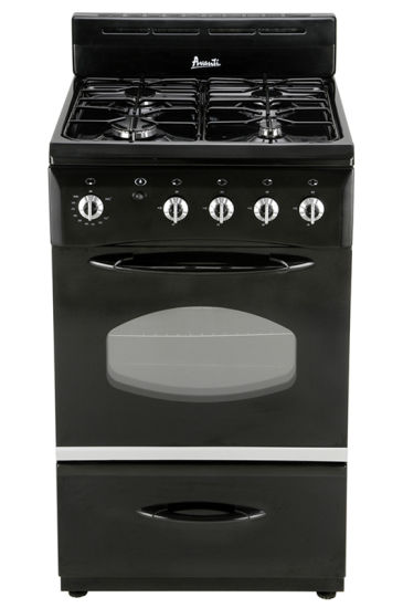 4 Burner Free Standing Gas Stove with Oven