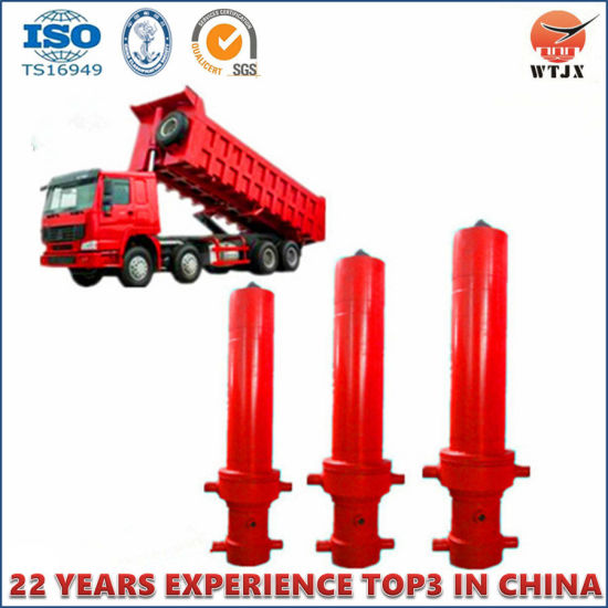 Multi-Stage Telescopic Hydraulic Cylinders pictures & photos