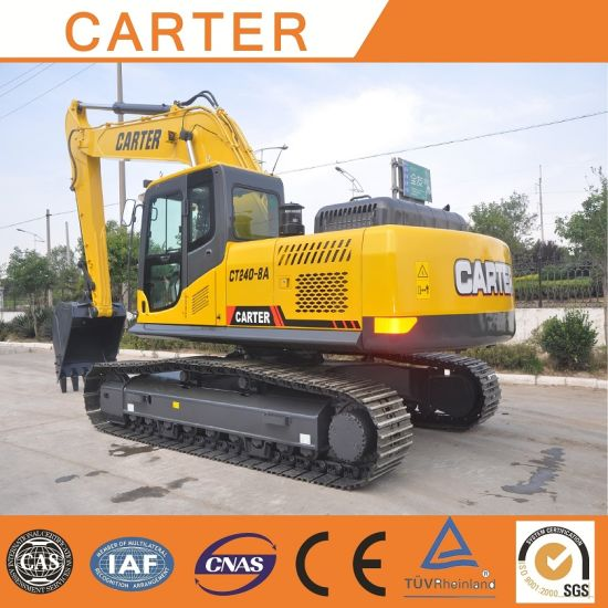 Hot Sales CT240-8c Hydraulic Crawler Backhoe Heavy Duty Excavator pictures & photos