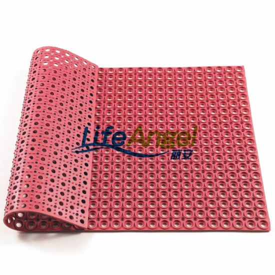 Anti-Bacteria Rubber Mat Hollow Rubber Mat Anti-Slip Rubber Mat
