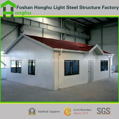 Portable Steel House Prefabricated Villa Building with Indoor Facilities