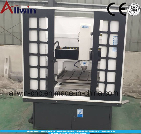 6060 Mould CNC Router Engraving Machine with Full Cover Factory Price pictures & photos