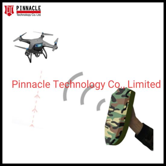 3CH GPS1.5g/WiFi 2.4G/5.8g Handheld Shied Shape Security Defense Jamming Uav Drone Jammer with 500m Range