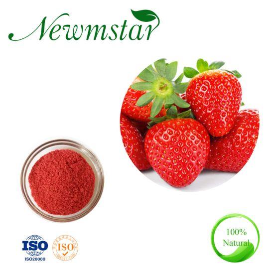 Factory Supply 100% Strawberry Powder Strawberry Fruit Powder