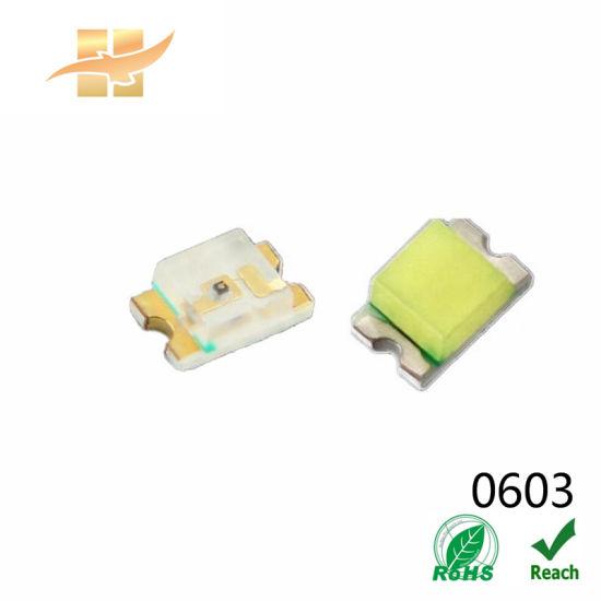 SMD 0603/1608 LEDs Chips Bi-Colors Red Green Light LED Decorative Flexible Strip